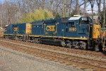 CSX 6980 on local C770